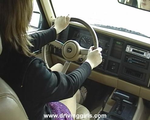 Drivinggirls Vid Jeep