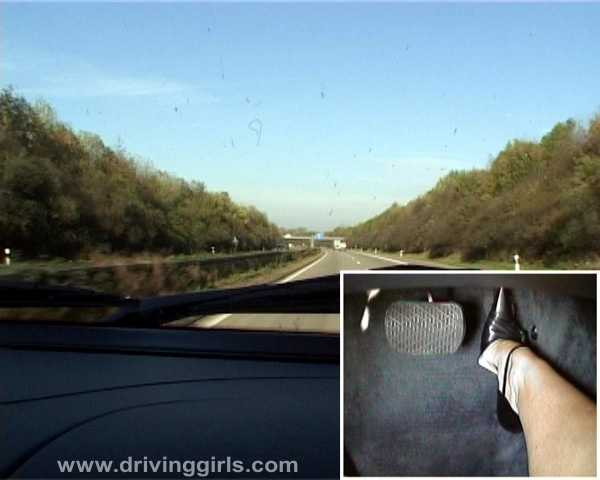 Girl Driving Mercedes Ml55 Amg Top Speed On German Autobahn