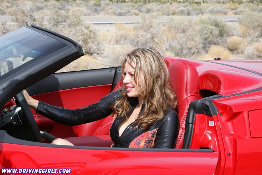 Black girl drive corvette stingray 4